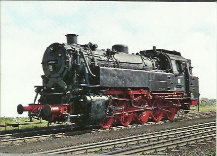 x16314. Baureihe 82. Güterzug - Tenderlok .