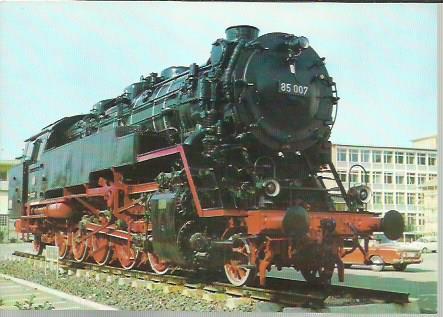 x16316. Baureihe 85. Güterzug-Tenderlokomotive.