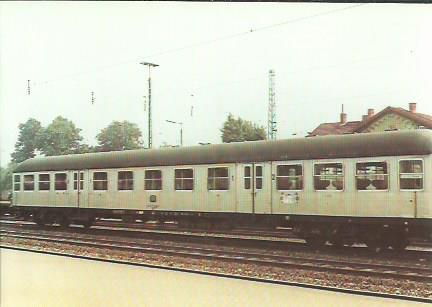 x16391. Nahverkehrssteuerwagen 1. und 2 Klasse.