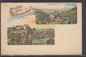 AK Litho Gruss aus Bremkerthal 2.Ansichten 1900