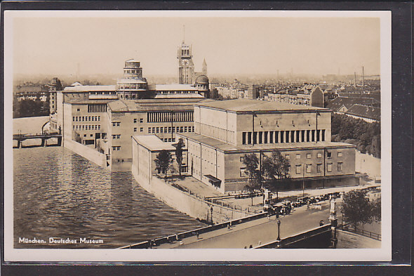 AK München Deutsches Museum 1940