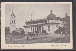 AK Wilna Kathedral Platz 1915
