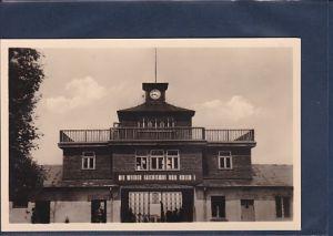 AK KZ Buchenwald bei Weimar Haupteingang 1955
