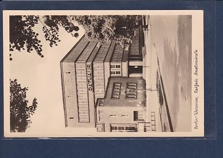 AK Berlin-Weissensee Rathaus Amalienstraße 1954