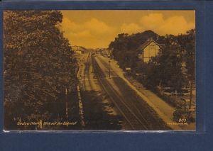 AK Seelow ( Mark) Blick auf den Bahnhof 1941