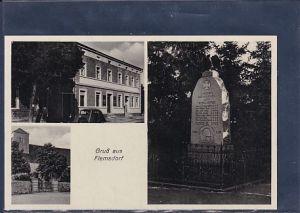 AK Gruß aus Flemsdorf 3.Ansichten 1935