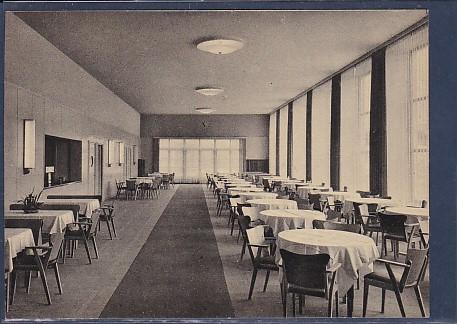 AK Walter Ulbricht Stadion Berlin Gästesaal des Klubhauses 1956
