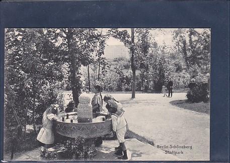 AK Berlin Schöneberg Stadtpark 1920