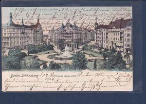 AK Berlin Schöneberg Victoria Luise Platz 1904