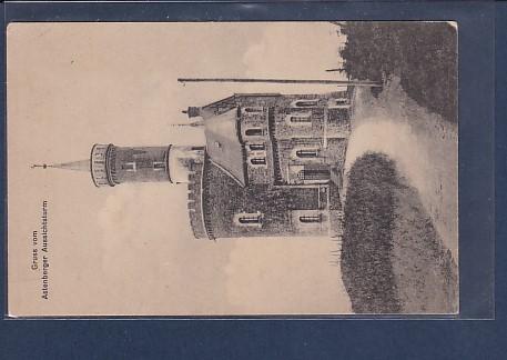 AK Gruss vom Astenberger Aussichtsturm 1920