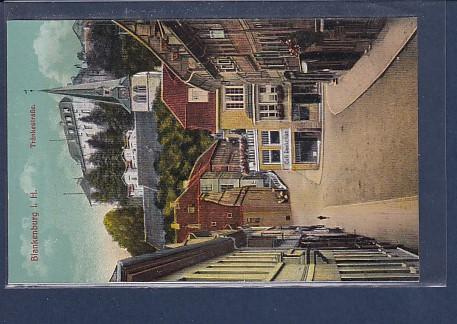 AK Blankenburg i.H. Tränkestraße 1930