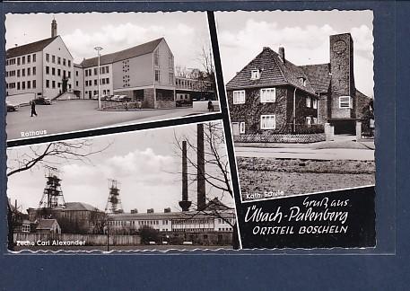 AK Gruß aus Übach Palenberg Ortsteil Boscheln 3.Ansichten 1963