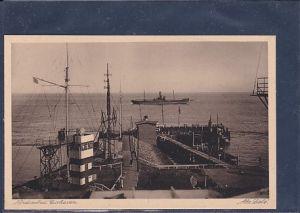 AK Nordseebad Cuxhaven Alte Liebe 1920