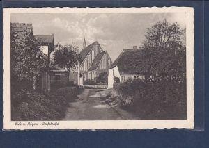 AK Wiek a. Rügen - Dorfstraße 1939