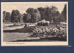 AK Güstrow Neuer Rosengarten 1930