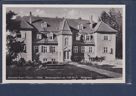 AK Ostseebad Graal Müritz Genesungsheim der VAB Berlin - Kinderheim 1960