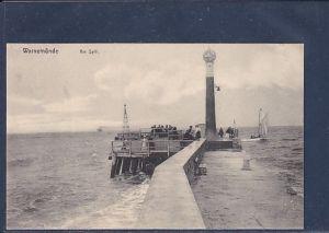 AK Warnemünde Am Spill 1920