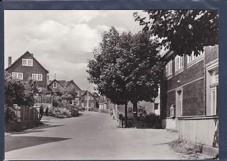 AK Meuselbach Schwarzmühle / Thür. Leubtalstraße 1974
