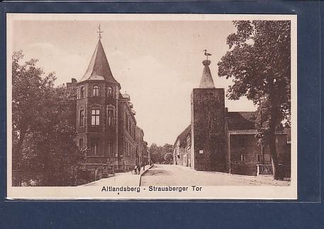 AK Altlandsberg Strausberger Tor 1920