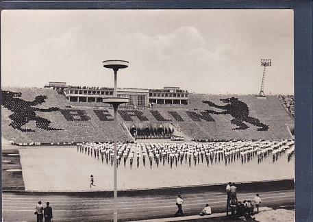 AK Messestadt Leipzig Stadion der Hunderttausend III Deutsches Turnfest u Sportfest 1959