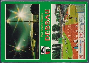 AK Paul - Greifzu - Stadion Dessau 2.Ansichten 1999