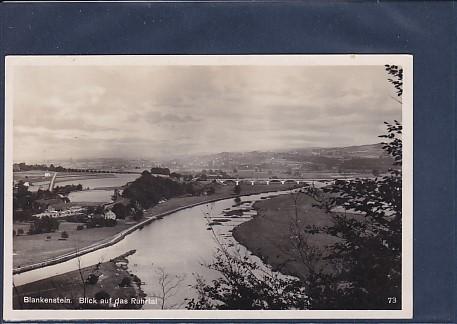 AK Blankenstein Blick auf das Ruhrtal 1930