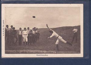 AK Gewichtstoßen 1911
