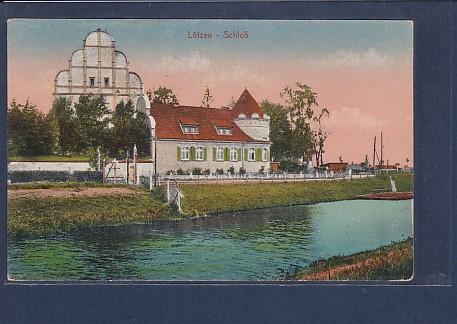 AK Lötzen - Schloß 1920