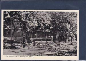 AK Gartenrestaurant im Zoologischen Garten 1950