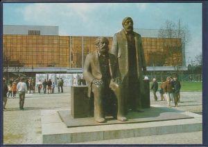 AK Berlin Marx Engels Forum (1987)