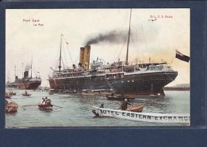 AK Post Said Le Port O.L.S.S.Oruba 1920