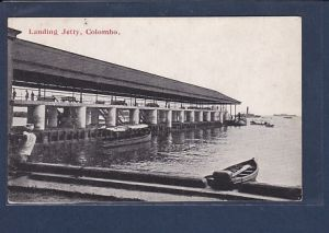 AK Landing Jetty, Colombo 1920