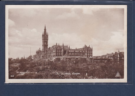 AK The University, Glasgow 1940
