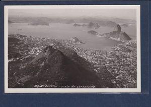 AK Rio de Janeiro - Vista do Corcovado 1940