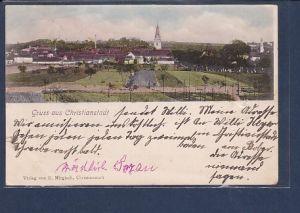 AK Gruss aus Christianstadt 1901