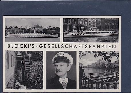 AK Blocki´s Gesellschaftsfahrten 5.Ansichten 1939