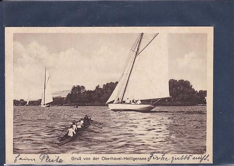AK Gruß von der Oberhavel-Heiligensee 1927