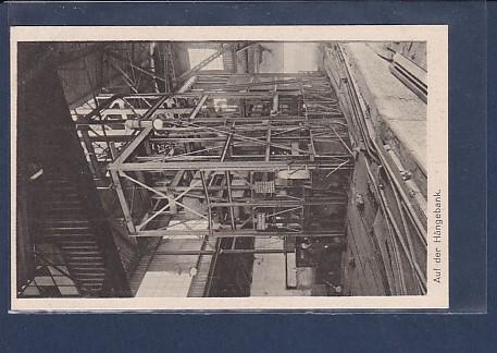 AK Auf der Hängebank Die Grube Unser Oberschlesien 1940