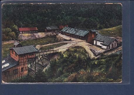 AK Silberbergwerk an der Deutsch-franz. Grenze b. Urbeis ( Vogesen) 1920