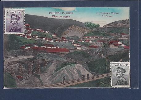 AK Mine de segne  De l´ouest 1913