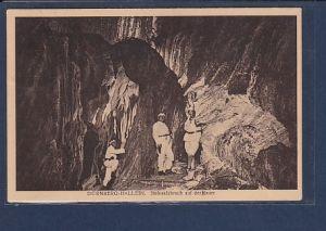 AK Dürnberg-Hallein  Steinsalzbruch auf der Heuer 1939