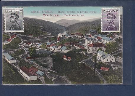AK Mine de Senj.- Vue de mine de l´est 1913