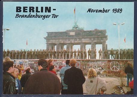 AK Berlin Brandenburger Tor November 1989