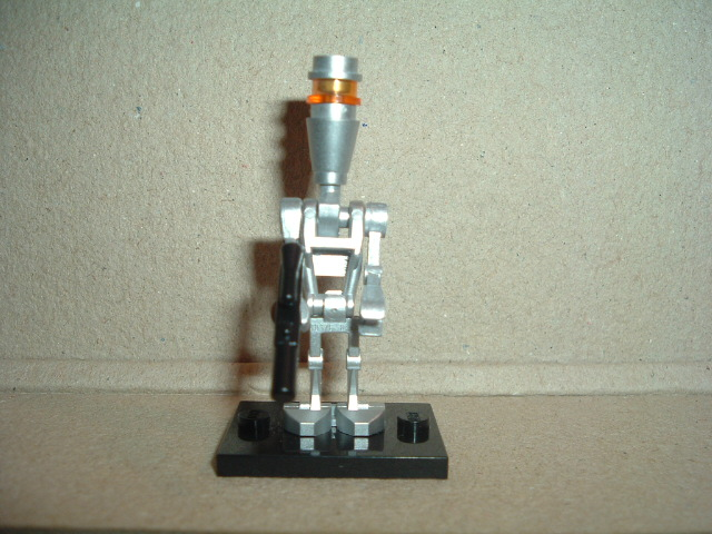 Lego Star Wars Assassin Droid silber