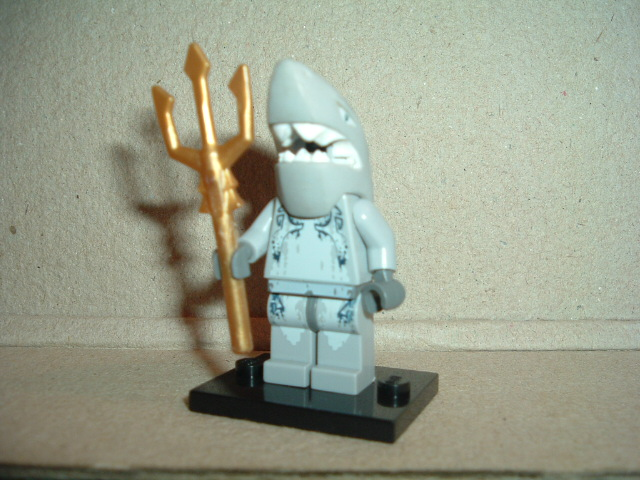 Lego Atlantis Shark Warrior
