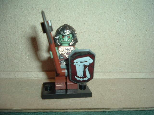 Lego Castle Troll Warrior 3 ( Orc)
