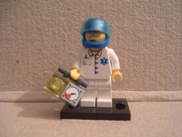 Lego City Notarzt der Luftrettung 2006