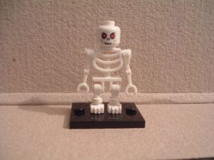 Lego Castle Weißes Skelett 2007