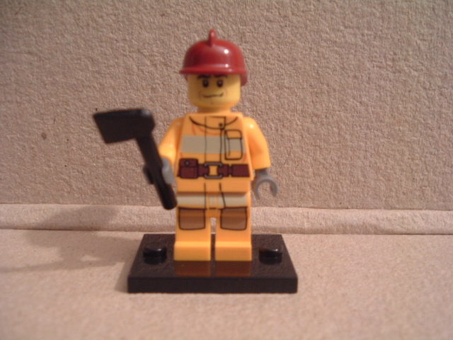 Lego City Fire Fighter