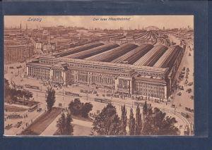 AK Leipzig Der neue Hauptbahnhof 1915